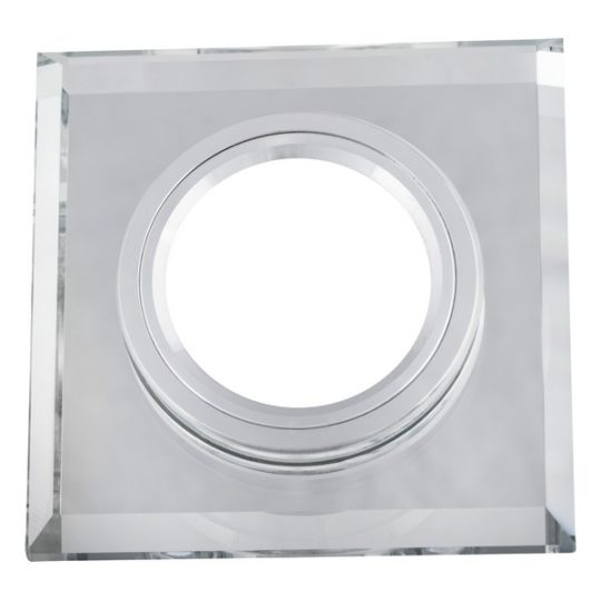Staklena rozetna CFR1206 bela
