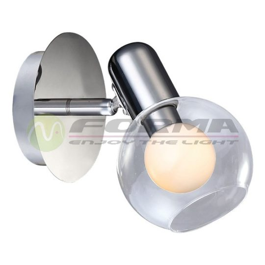 Zidna spot lampa FE402-1 hrom