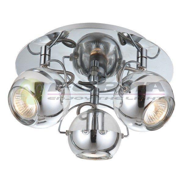 Spot lampa FG104-3R hrom