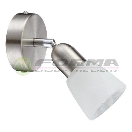 Zidna spot lampa FE401-1 mat-hrom