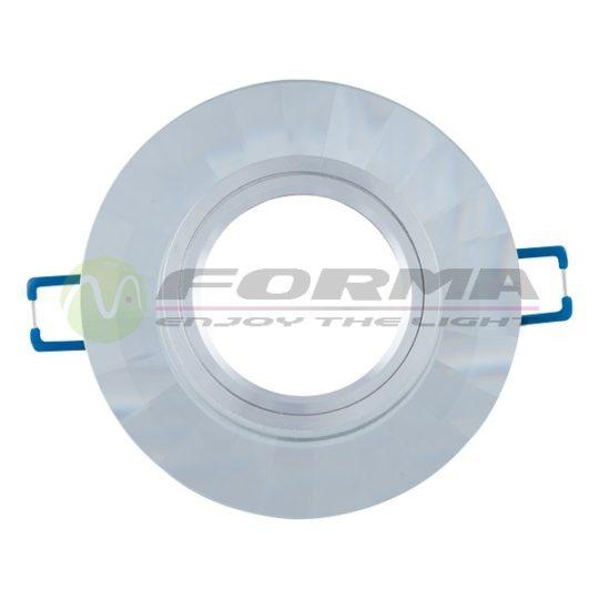 Staklena rozetna CFR1207 bela