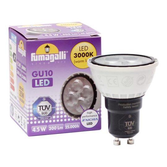 Sijalica LED GU10 4.5W 3000K Fumagalli
