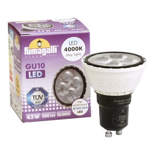 Sijalica LED GU10 4.5W 4000K Fumagalli