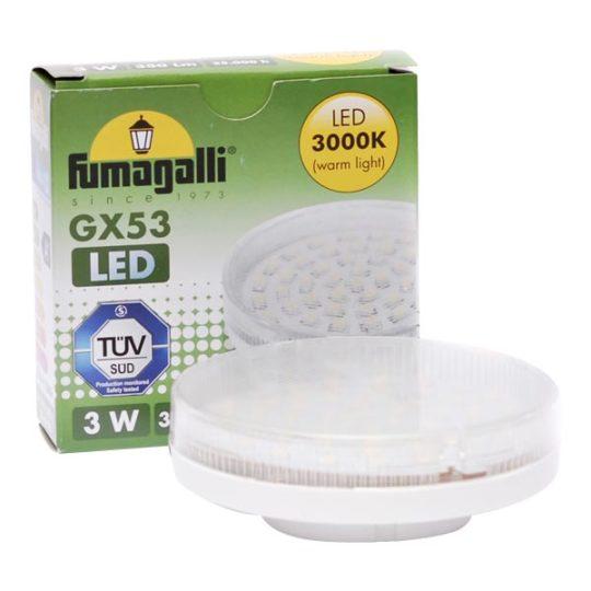 Sijalica LED GX53 3W 3000K Fumagalli