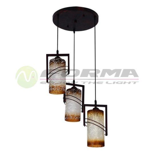 Viseća lampa F7507-3V bronza