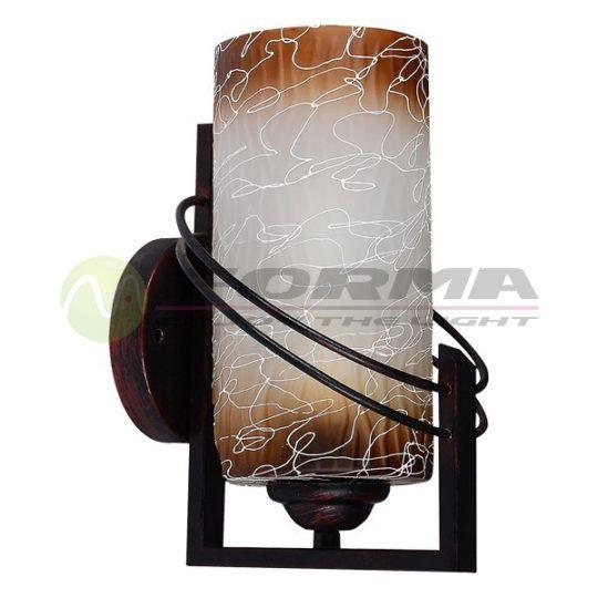 Zidna lampa F7507-1Z bronza