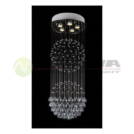 Plafonska lampa kristal FG130-5V