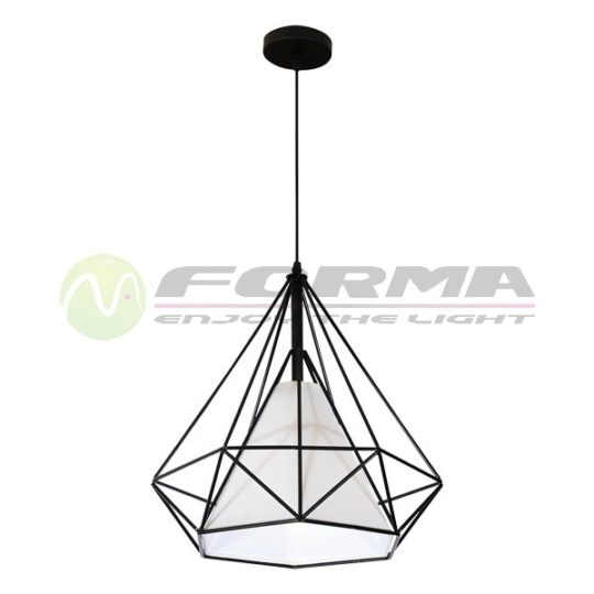 Viseća lampa F7226-1V crna