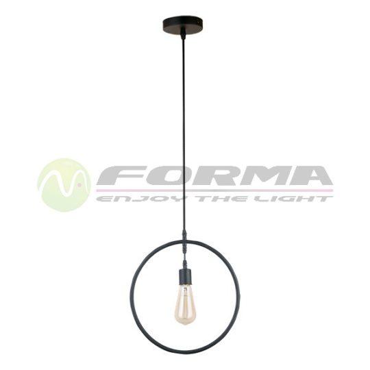 Viseća lampa F7237-1V crna