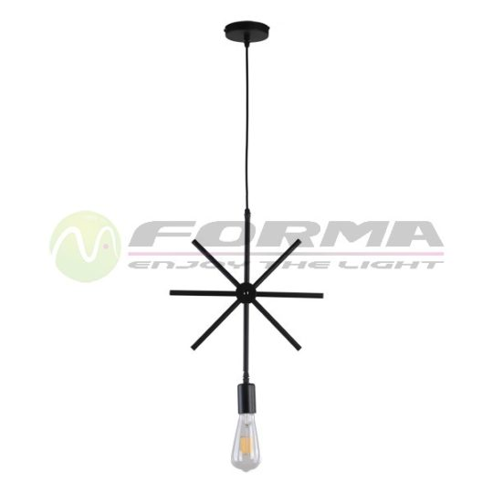 Viseća lampa F7238-1V crna