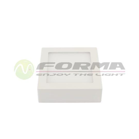 LED panel 6W nadgradni LPB-08-6S 6400K