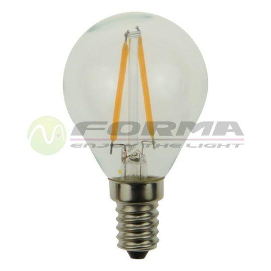 LED sijalica E14 G45 Filament 2W