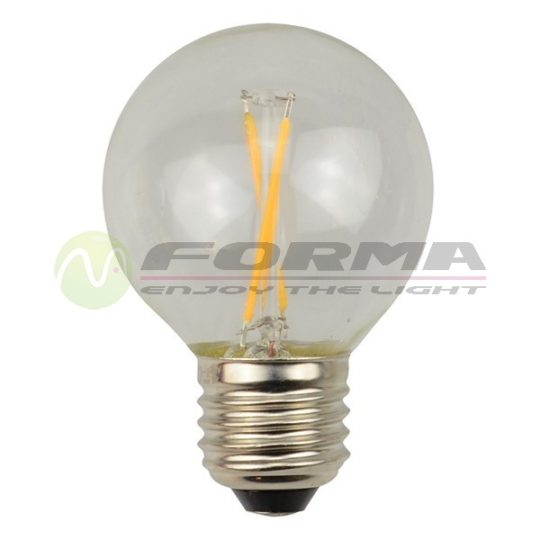 LED sijalica E27 G45 Filament 2W