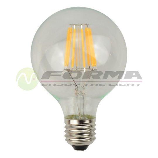LED sijalica E27 G80 Filament 6W