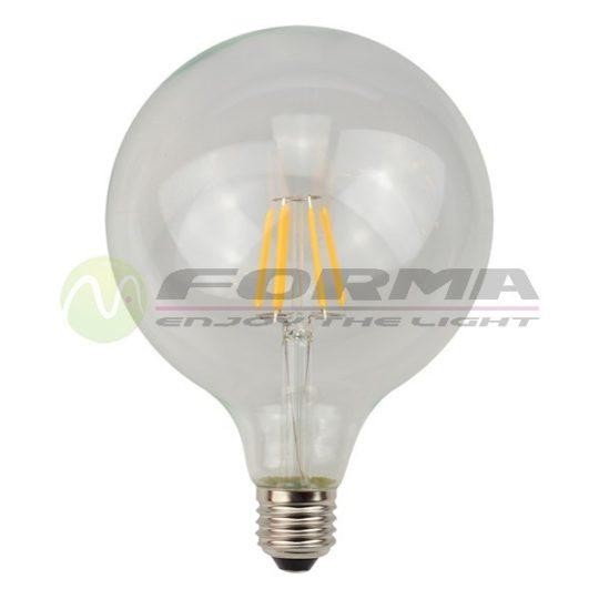 LED sijalica E27 G95 Filament 6W