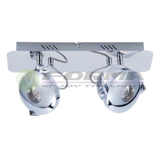LED spot LS103-2P hrom