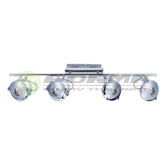 LED spot LS103-4 hrom
