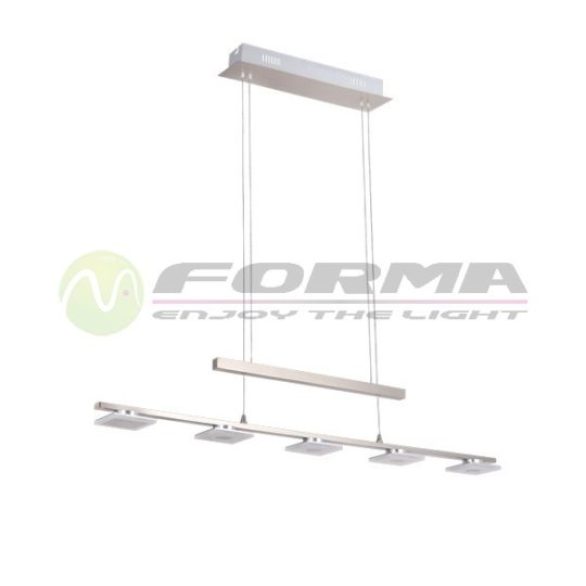 LED visilica F2200-5V mat-hrom