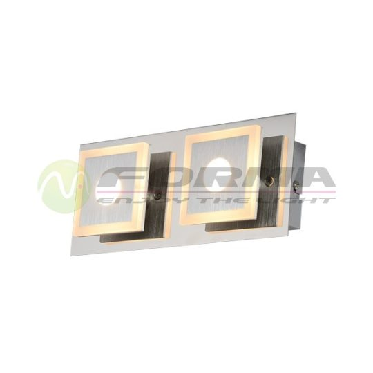 Plafonska LED lampa F2200-2C mat-hrom