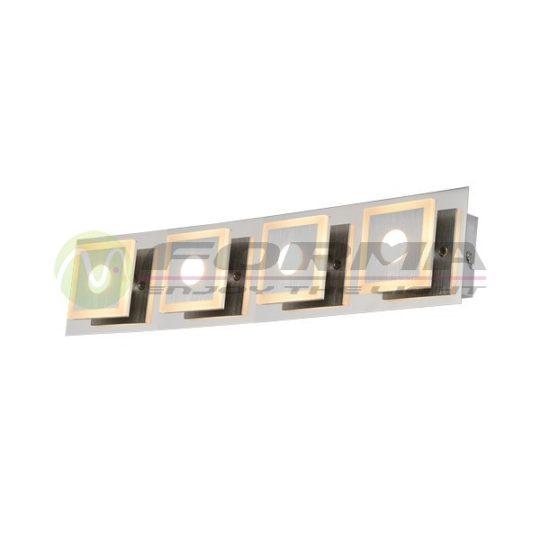 Plafonska LED lampa F2200-4C mat-hrom