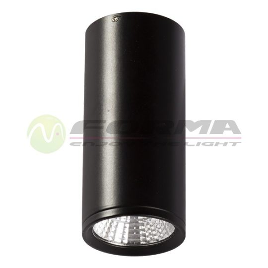 LED plafonska lampa F2600-5C crna