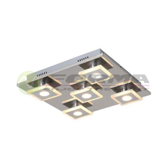 Plafonska LED lampa F2200-5C mat-hrom