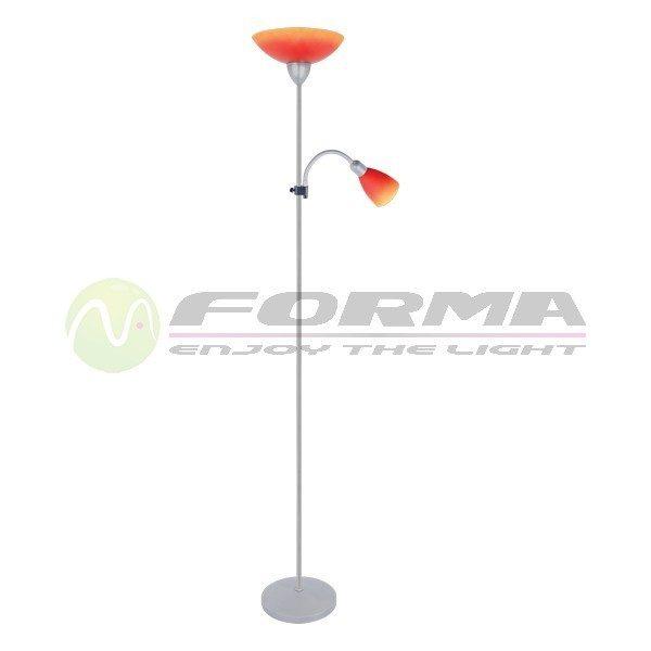 Podna lampa F7114-2F narandžasta