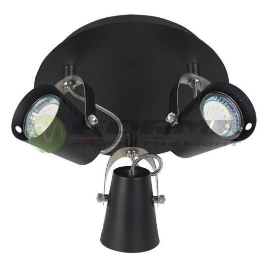 Spot lampa FG102-3C crna