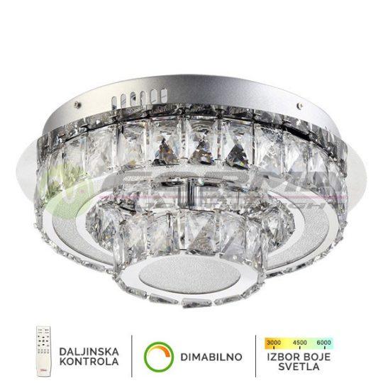 Plafonska Led lampa KP6013-26C kelvin forma