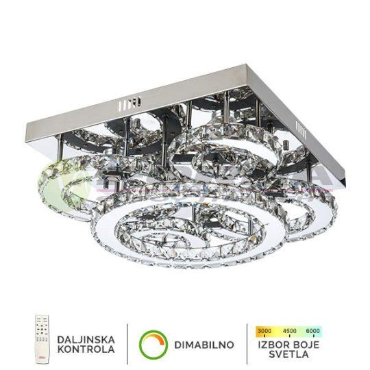 Plafonska lampa 132W KP6024-132C CORMEL FORMA