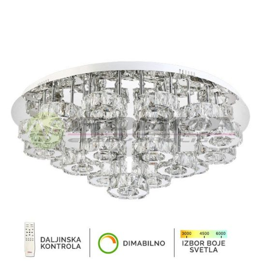 Plafonska lampa 152W KP6006-152C CORMEL FORMA