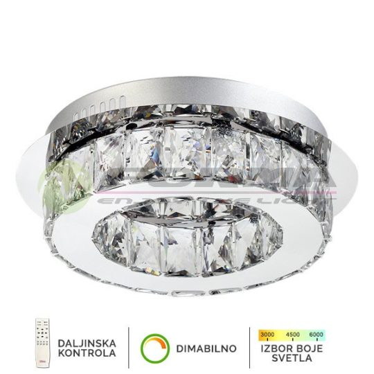 Plafonska lampa 20W KP6001-20C CORMEL FORMA