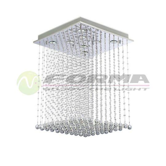 Plafonska lampa kristal 8xGU10 FG121-8C CORMEL FORMA