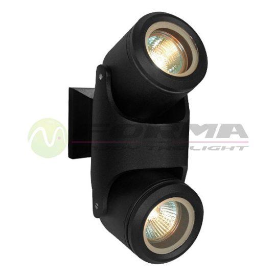 Spoljna lampa 2xGU10 S4624 BK 2 CORMEL FORMA