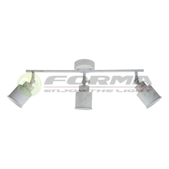 Spot lampa FE404-3 belo-zlatna