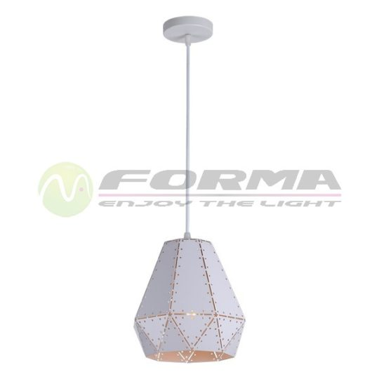 Visilica 1xE27 MP041-20 WH CORMEL FORMA