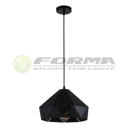 Visilica 1xE27 MP041-30 BK CORMEL FORMA