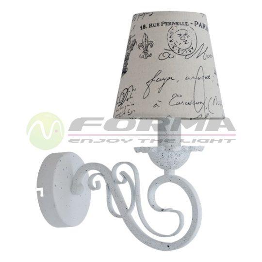 Zidna lampa 1xE14 ML1450-1 CORMEL FORMA
