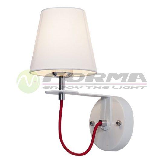 Zidna lampa 1xE14 ML1490-1 WH+WH CORMEL FORMA