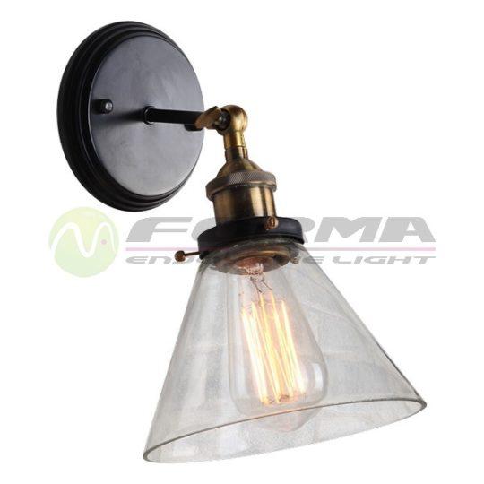 Zidna lampa 1xE27 F7253-1Z CORMEL FORMA