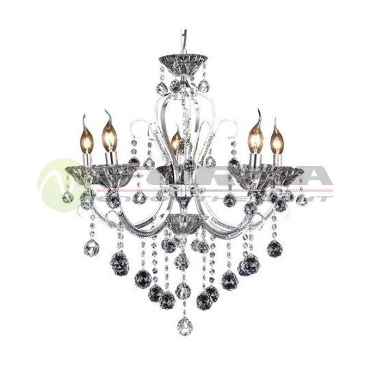 Luster kristal ML1404-6 hrom