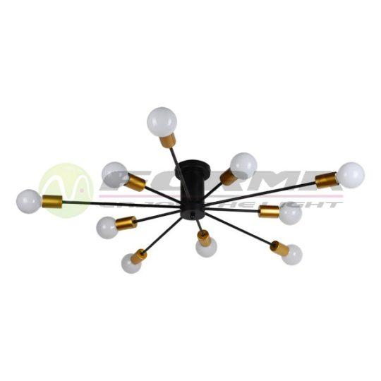 Plafonska lampa FK7009-10C crno-zlatna