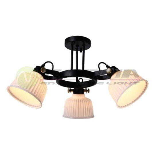 Plafonska lampa F4030-3C crna