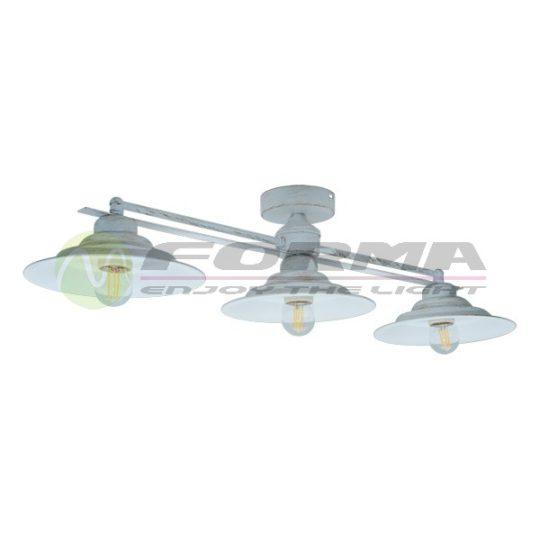 Plafonska lampa F7062-3P belo-zlatna