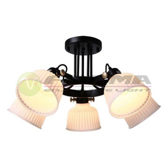 Plafonska lampa F4030-5C crna