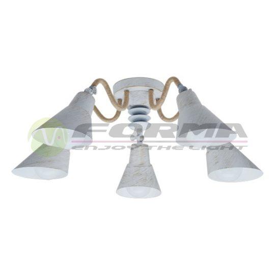 Plafonska lampa F7060-5C belo-zlatna