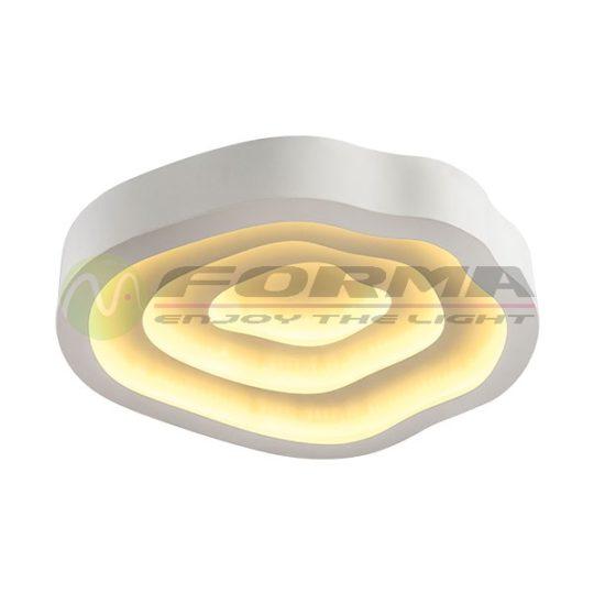 Plafonska LED lampa F2099-64C bela
