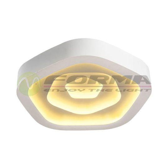 Plafonska LED lampa F2099-70C bela