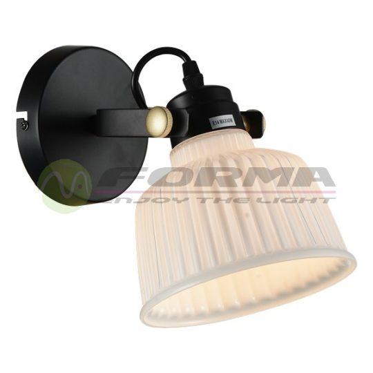 Zidna lampa F4030-1Z crna