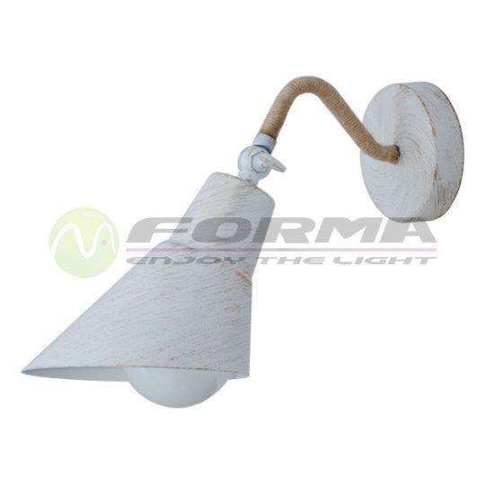 Zidna lampa F7060-1Z belo-zlatna